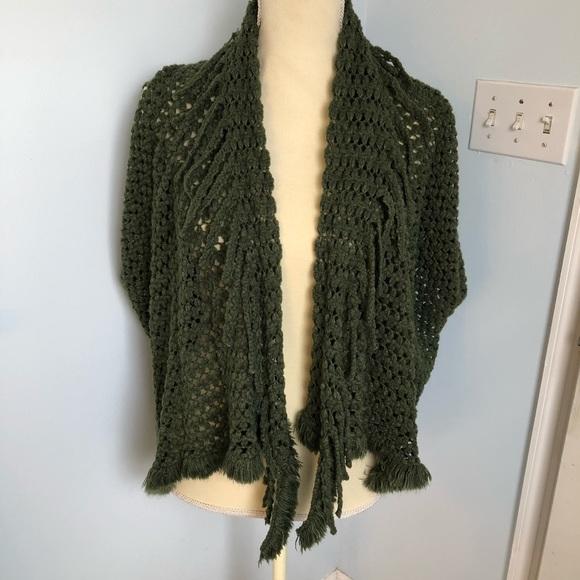 Life is Beautiful Sweaters - Fringe vest NWT